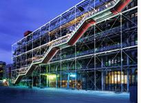 The Centre Pompidou in Paris (click to expand)