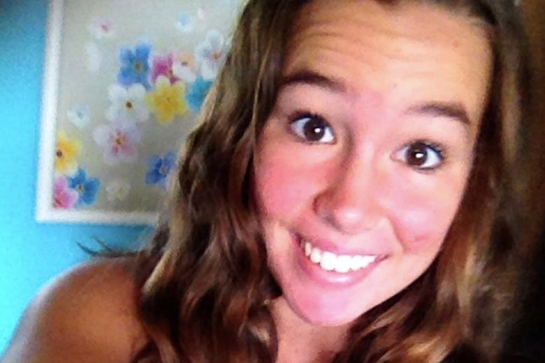 Mollie Tibbetts poses for an undated photograph obtained by Reuters August 22, 2018.