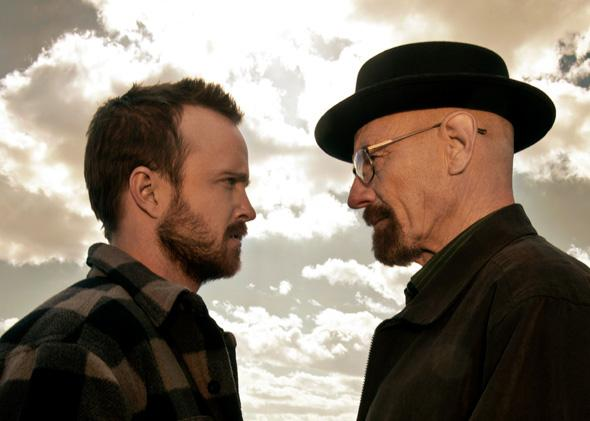 Jesse Pinkman (Aaron Paul) and Walter White (Bryan Cranston).
