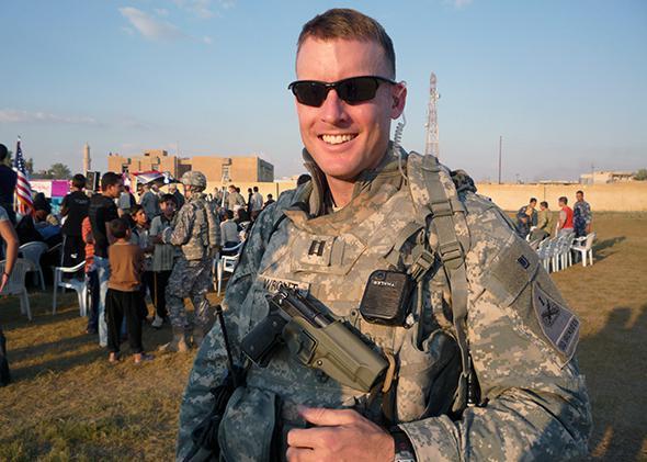 Army Major Jason Wright