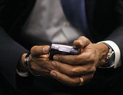 Barack Obama's BlackBerry. Click image to expand.