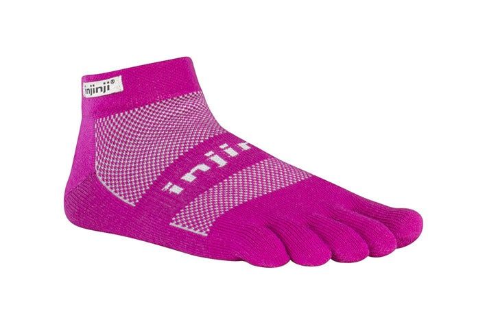 Injinji toe socks.