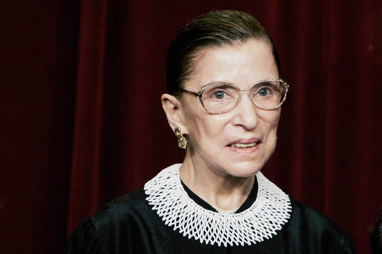 Supreme Court Justice Ruth Bader Ginsburg in 2006.