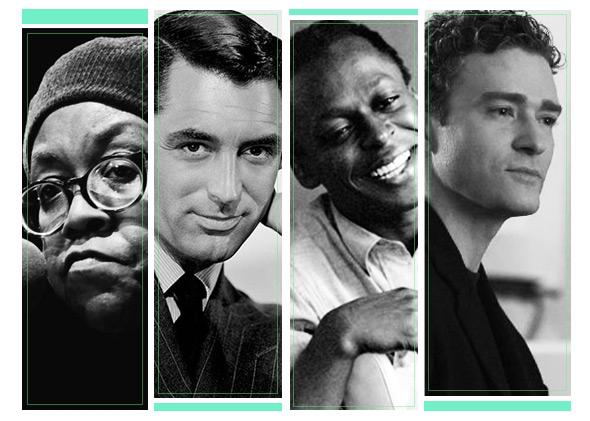 Gwendolyn Brooklyn, Cary Grant, Miles Davis, Justin Timberlake