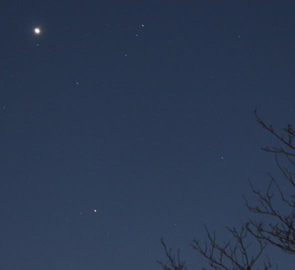 Venus Uranus Mars
