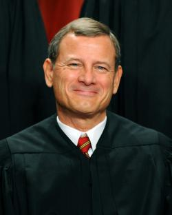 US Supreme Court Chief Justice John G. Roberts.