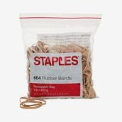 Staples Economy Rubber Bands