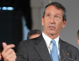 South Carolina Gov. Mark Sanford. Click image to expand.