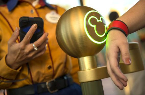 """Could Disney's """"MagicBands"""" violate visitors' privacy?"""