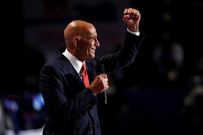 Tom Barrack at the Republican National Convention in Cleveland on July 21, 2016.
