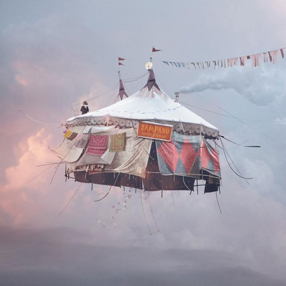 Laurent Chehere Flying Houses 9.