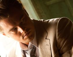 "Still of Leonardo DiCaprio as Cobb in ""INCEPTION"". Click image to expand."