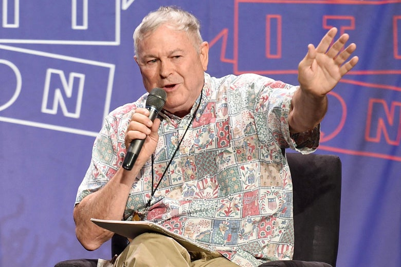PASADENA, CA - JULY 30:  Dana Rohrabacher at the 'From Russia With Trump' panel during Politicon at Pasadena Convention Center on July 30, 2017 in Pasadena, California.  (Photo by Joshua Blanchard/Getty Images  for Politicon)