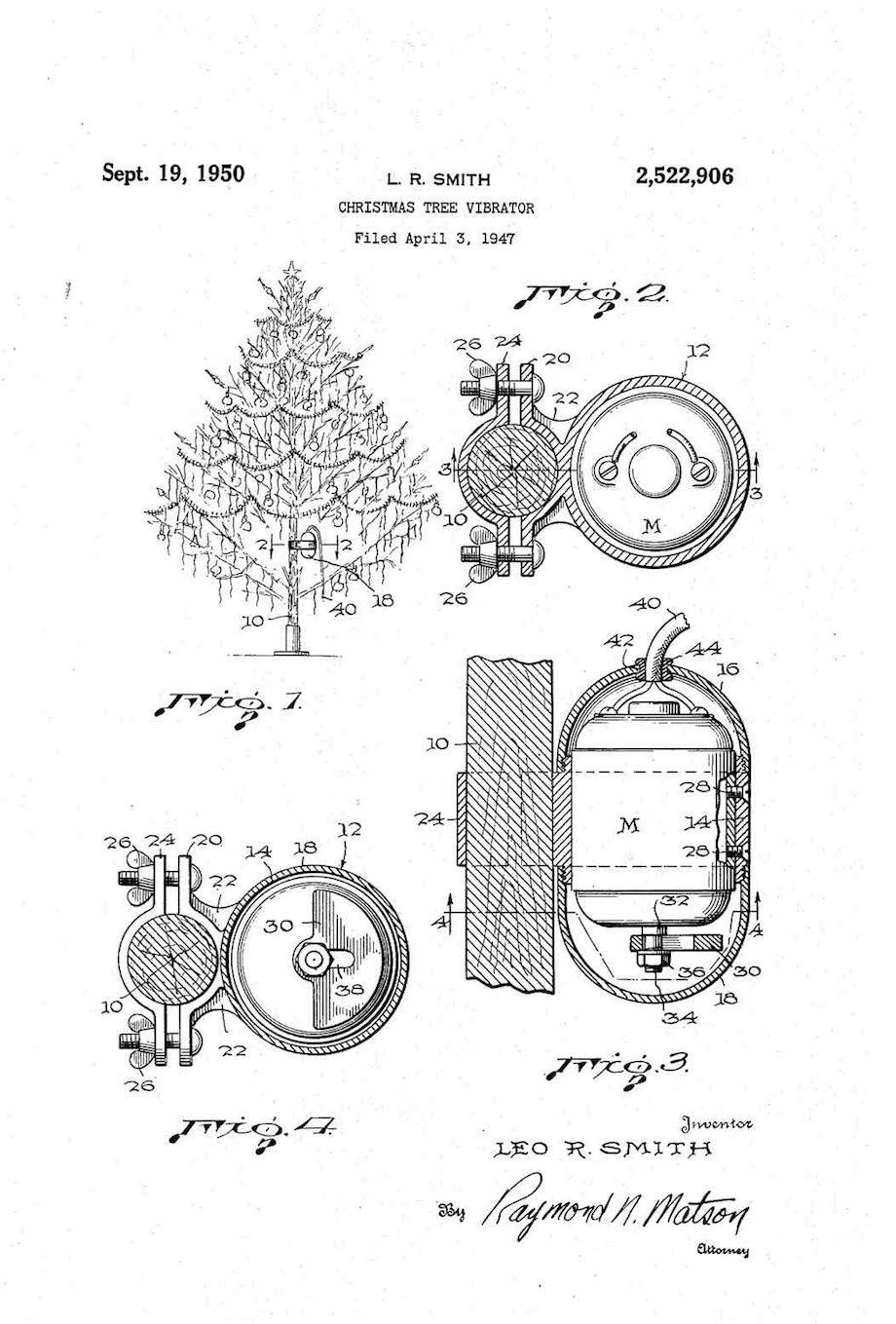 Christmas Tree Vibrator
