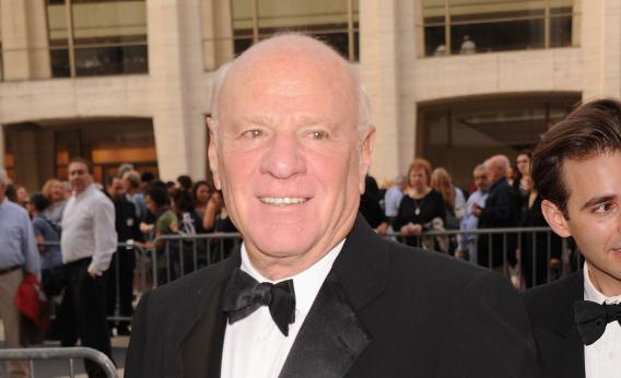 Barry Diller, formerly head of Paramount and Fox, is one of the online TV start-up Aereo's principle backers.
