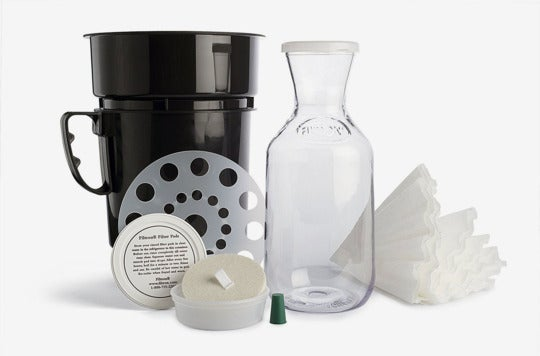 Filtron Cold Water Coffee Concentrate Brewer.
