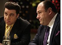 Steven Van Zandt and James Gandolfini in The Sopranos. Click image to expand.