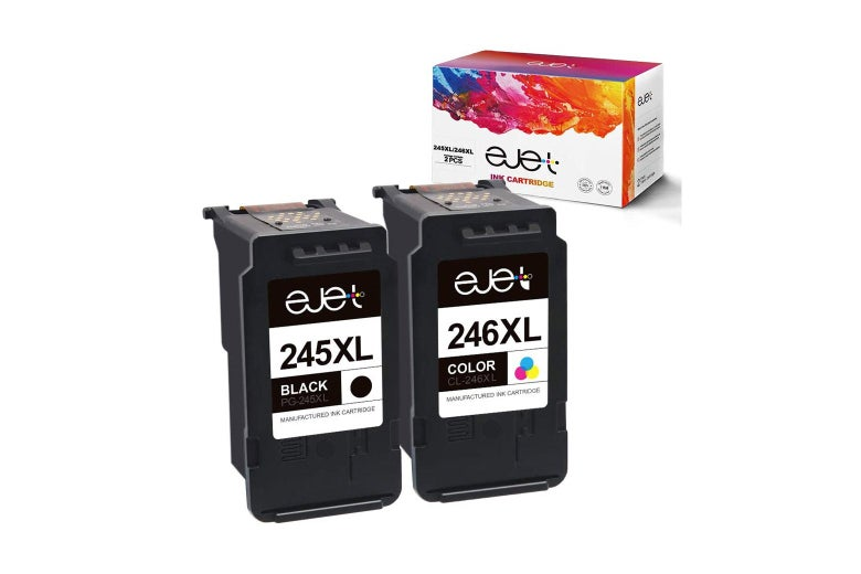 Ejet ink cartridges and box