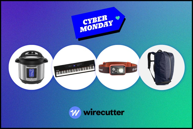 assorted Cyber Monday items