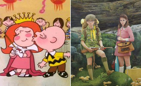Peanuts and Moonrise Kingdom