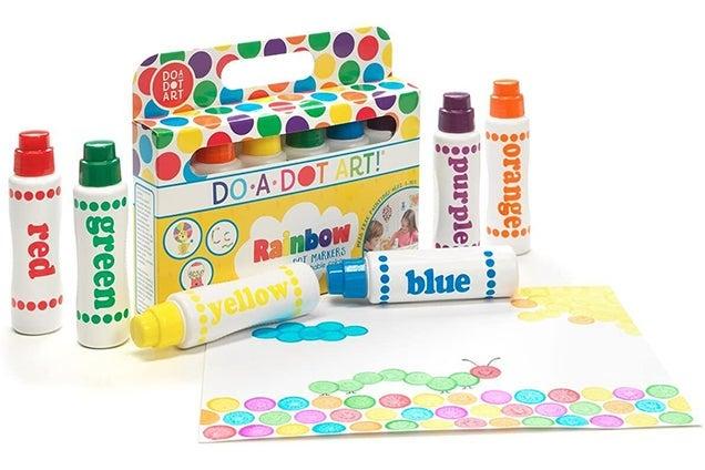 Do A Dot Art Rainbow Dot Markers
