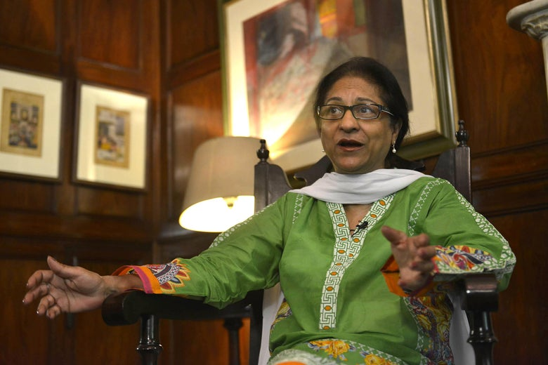 Pakistan s asma jahangir the country s moral leader has for Asma t salon lahore