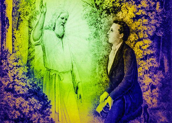 Joseph Smith, Moroni, the Book of Mormon