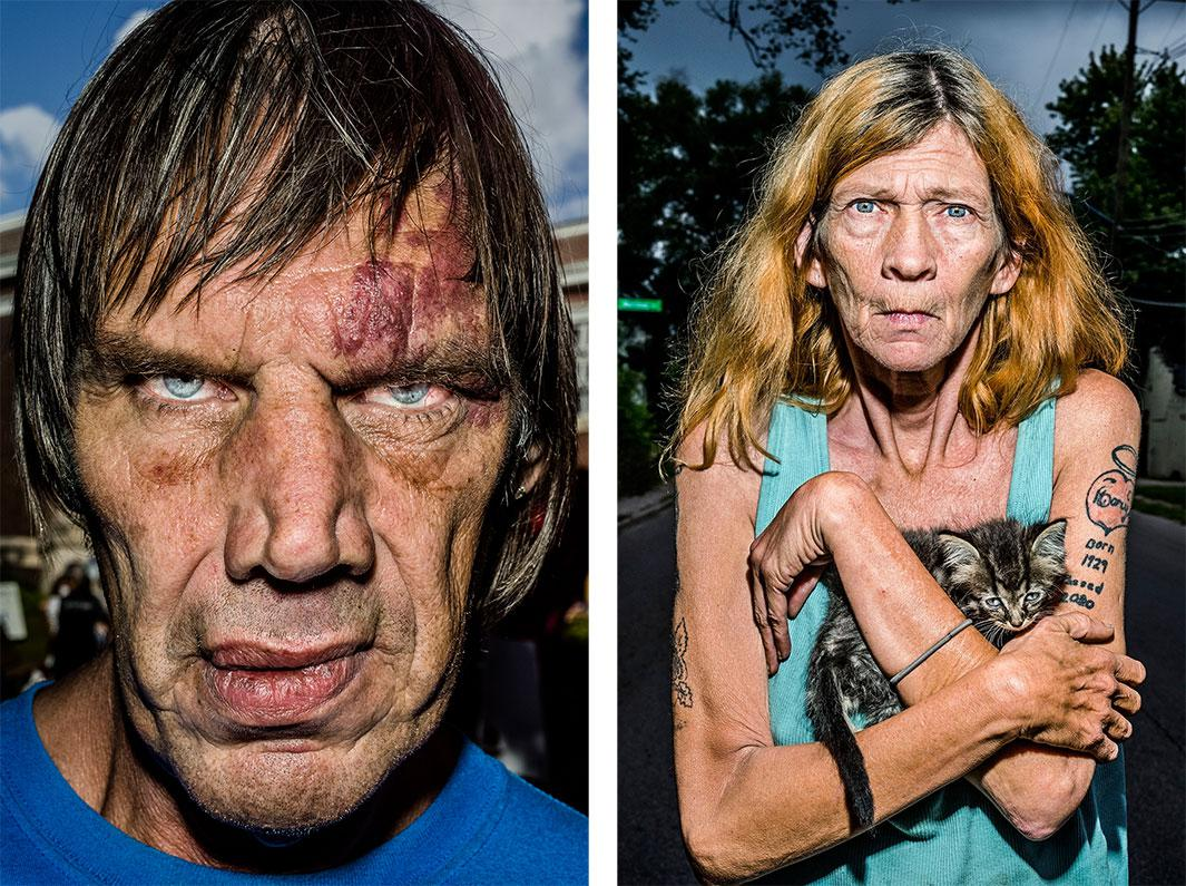 Bruce Gilden's Face: An up close and personal look at people often ignored (PHOTOS).