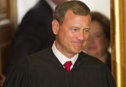 US Supreme Court Chief Justice John Roberts.