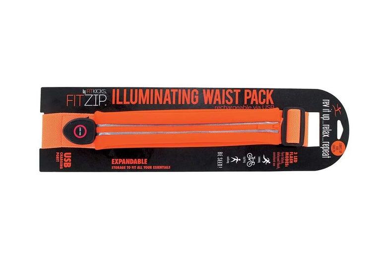 Illuminating waist pack