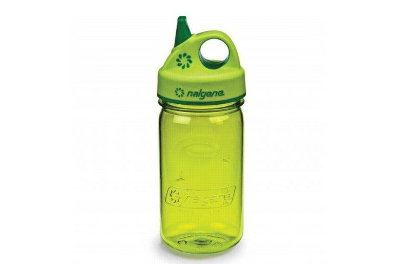 Green Nalgene Tritan bottle.