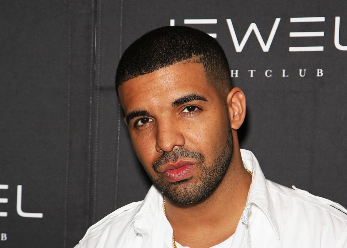 Rapper Drake attends Jewel Nightclub at the Aria Resort and Casino on May 21 in Las Vegas.