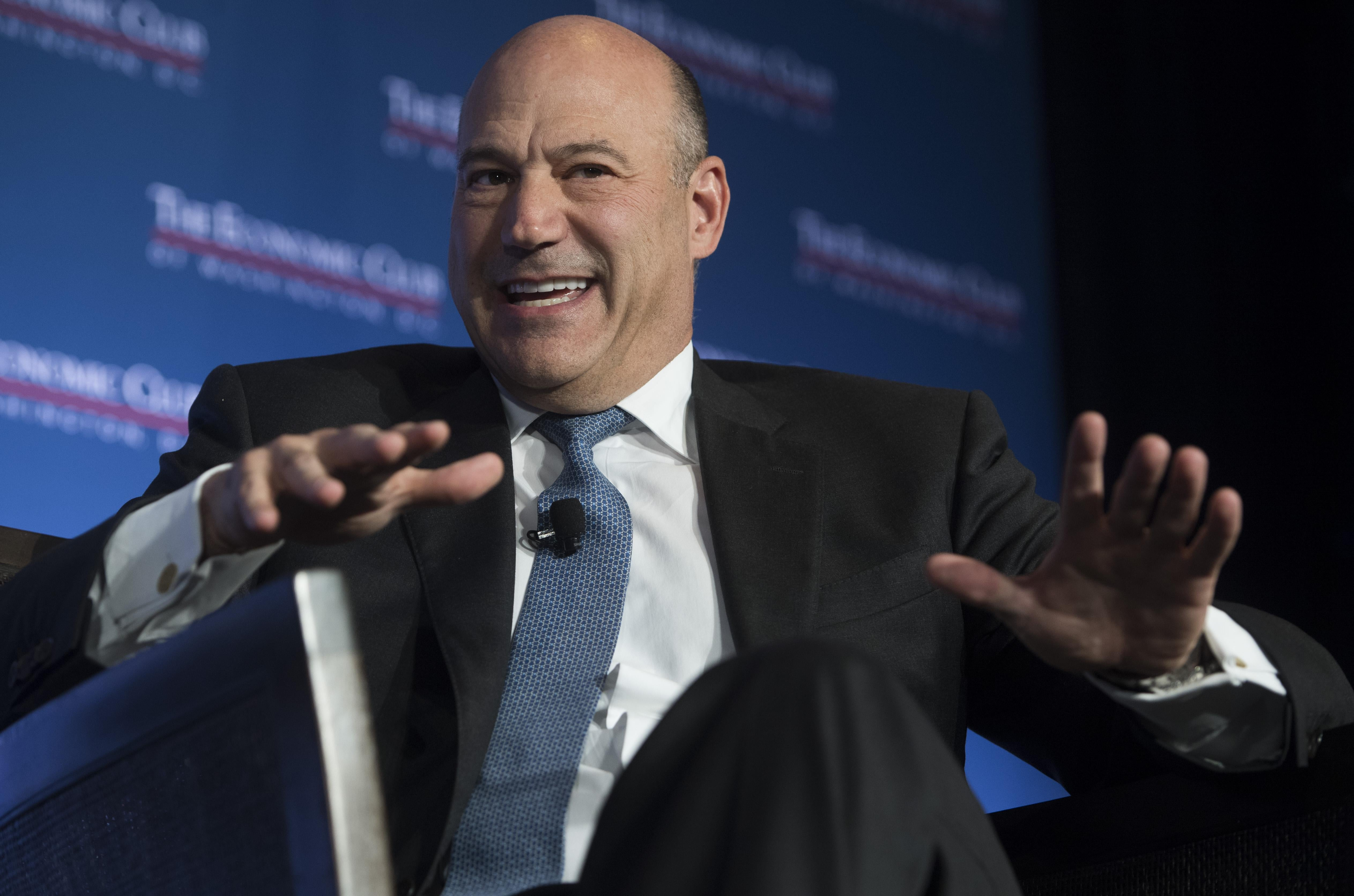 Gary Cohn, director of the National Economic Council, speaks about tax reform to the Economic Club of Washington in Washington, DC, November 2, 2017.
