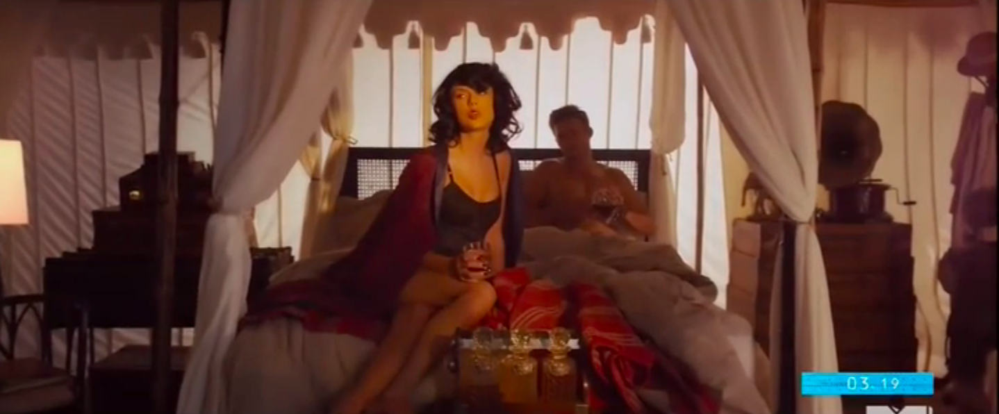 "Taylor Swift in the video for ""Wildest Dreams"""