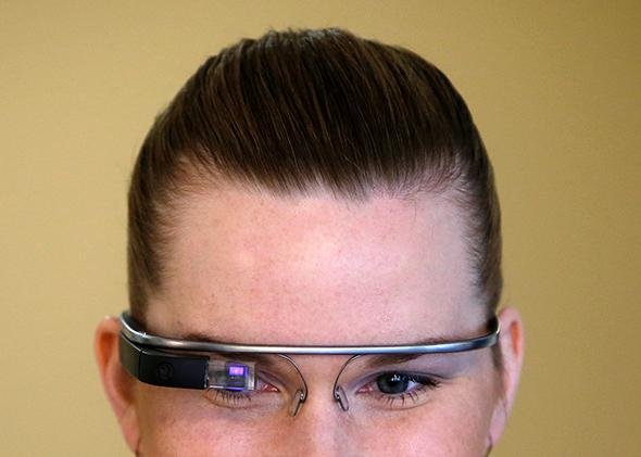 Google Glass.