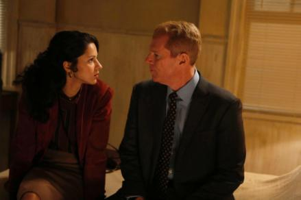 Annet Mahendru as Nina and Noah Emmerich as Stan Beeman