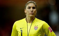 Hope Solo. Click image to expand.