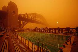 Australia during a sand storm. Click image to expand.