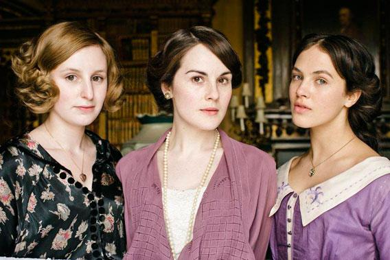 Lady Edith, Lady Mary and Lady Sybil