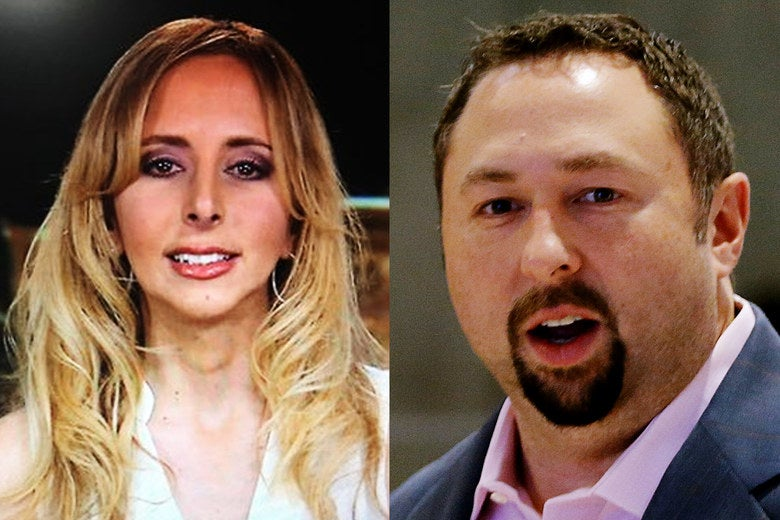 A.J. Delgado and Jason Miller.