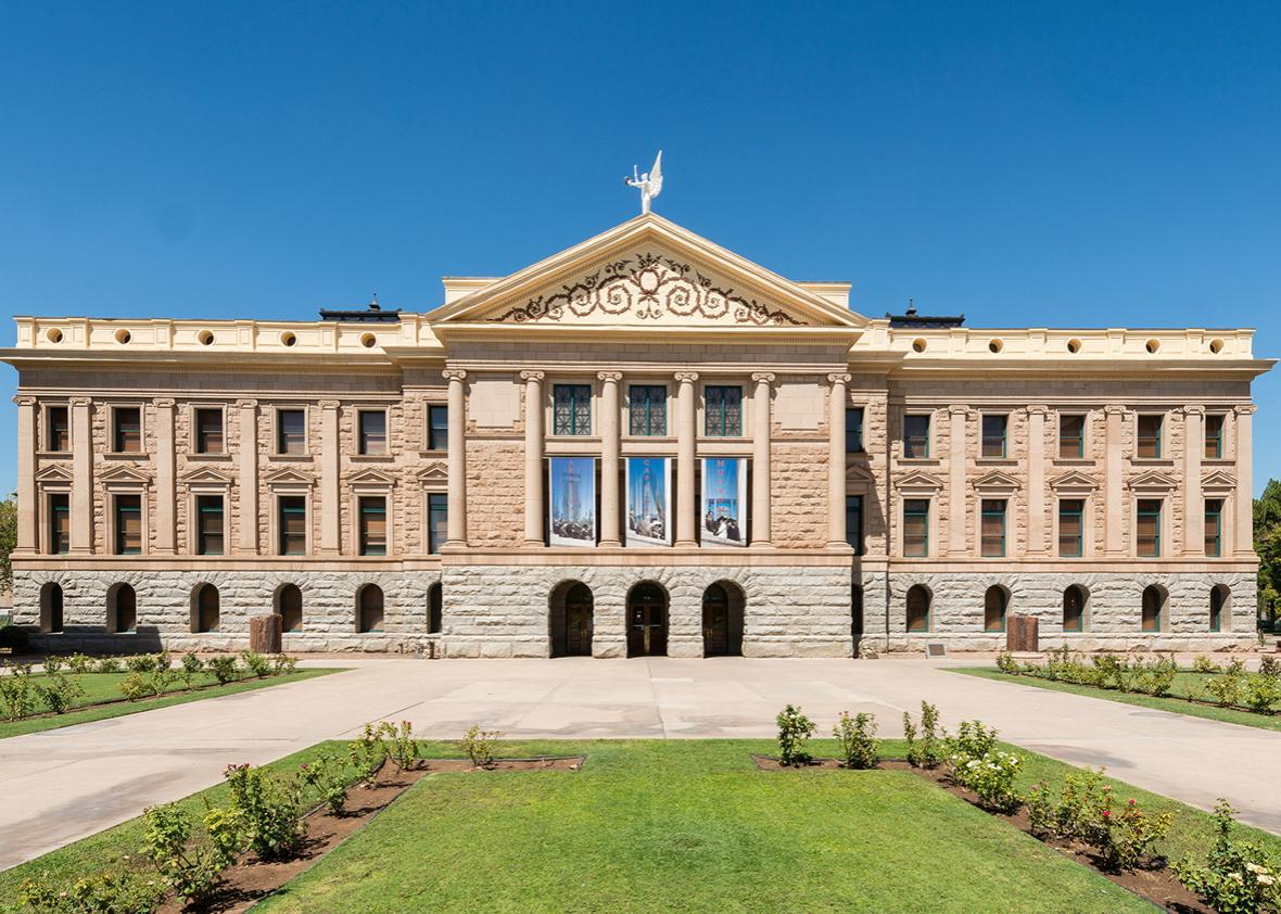 Original Arizona State Capitol building in Phoenix, Arizona.