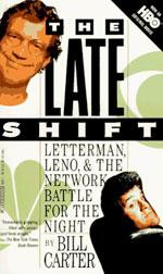 """Bill Carter's book """"The Late Shift""""."""