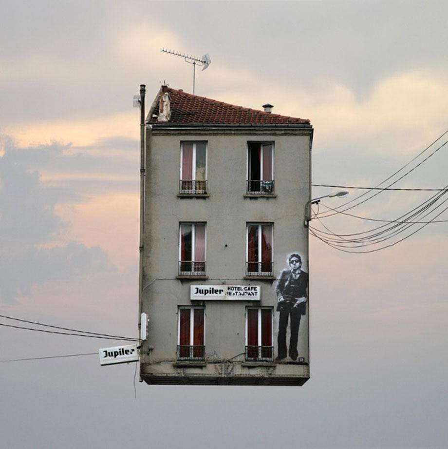 Laurent Chehere Flying Houses Maison 4.
