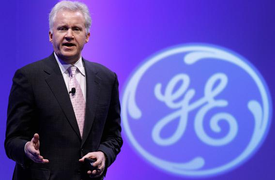 GE Chairman and CEO Jeffrey Immelt.