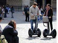 Not everyone at Notre-Dame embraces the concept of the Segway.
