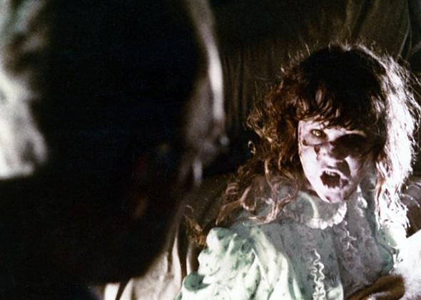 Linda Blair in The Exorcist.