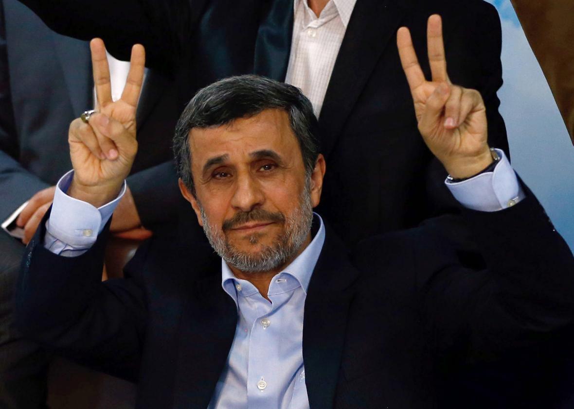 Ahmadinejad is back. Will he r...