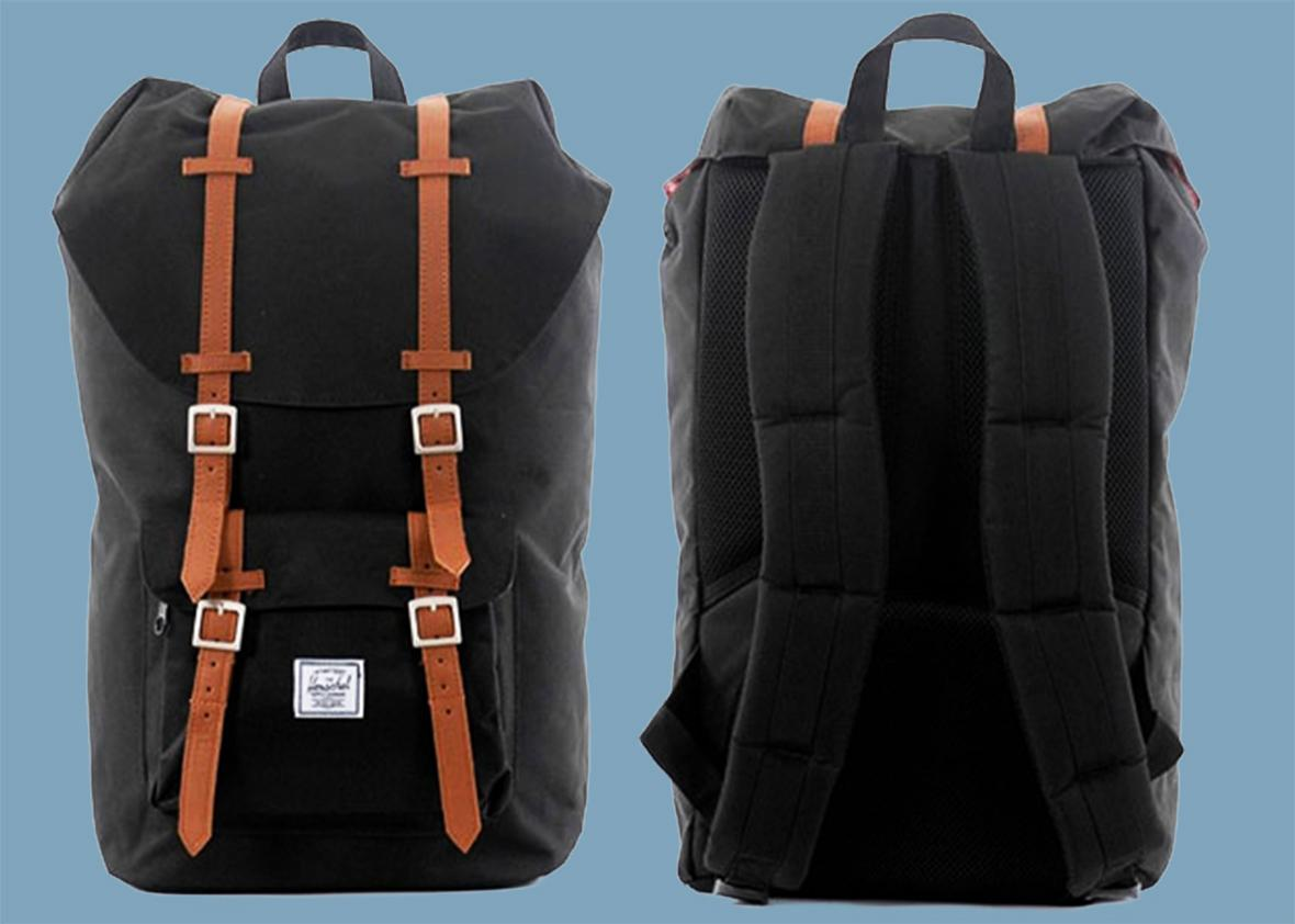 How Herschel backpacks became ubiquitous. 4564a0178