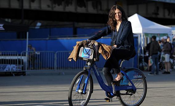New York bike-sharing program.