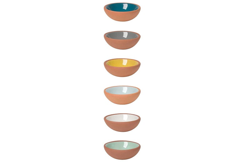 Small colorful bowls.